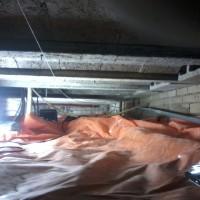 tonzon vloerisolatie in opbouw
