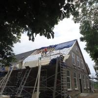 dak isoleren en beplaten